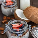 chia seed pudding coconut milk